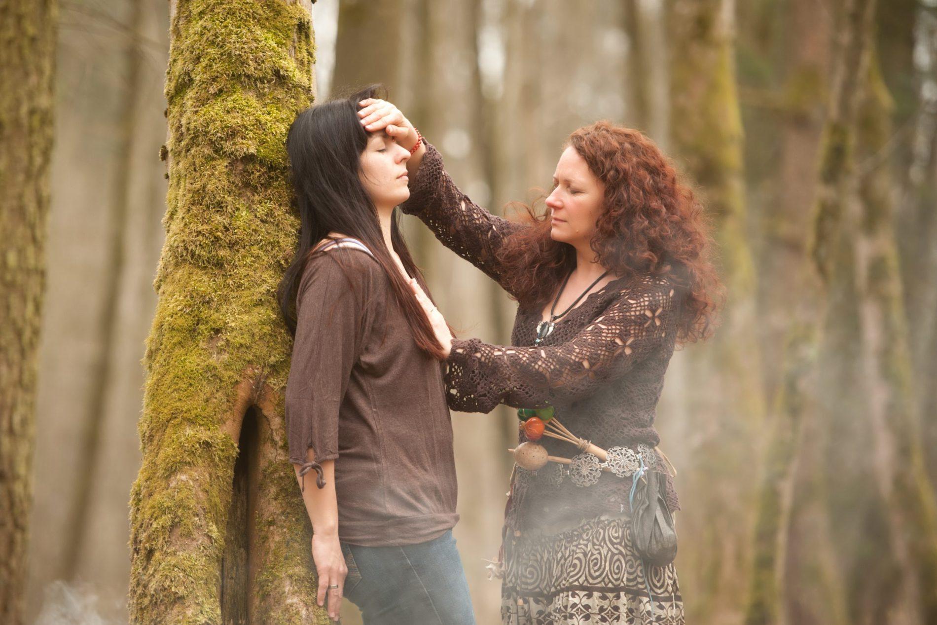Behandlung im Wald