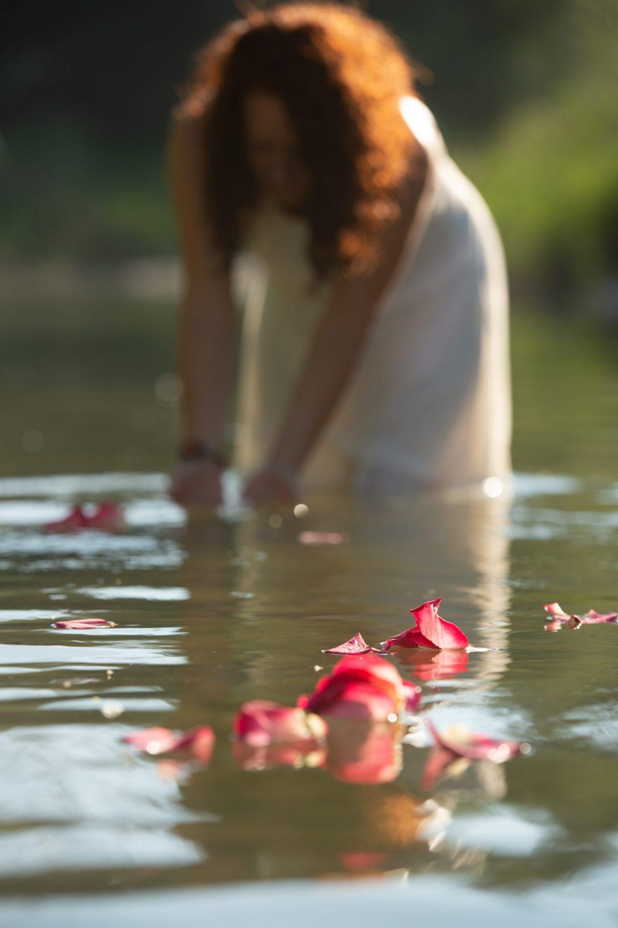 Loslassen heisst im Fluss sein